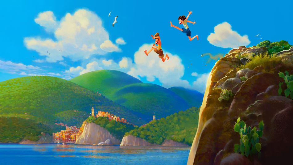 Disney and Pixar's new film 'Luca' spends a summer of friendship in the Italian Riviera