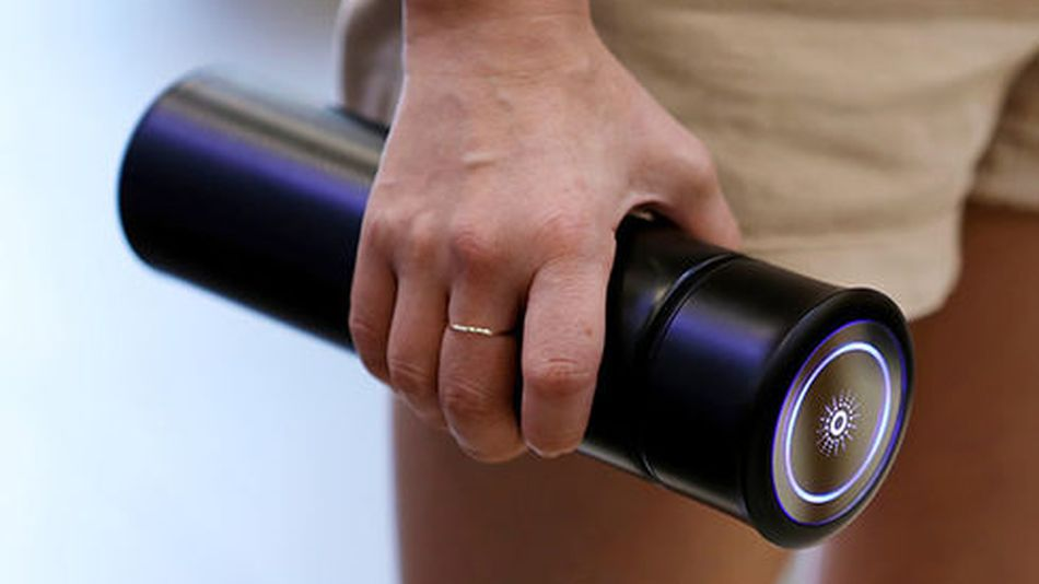 This self-cleaning water bottle uses UV light to kill bacteria – and it's on sale