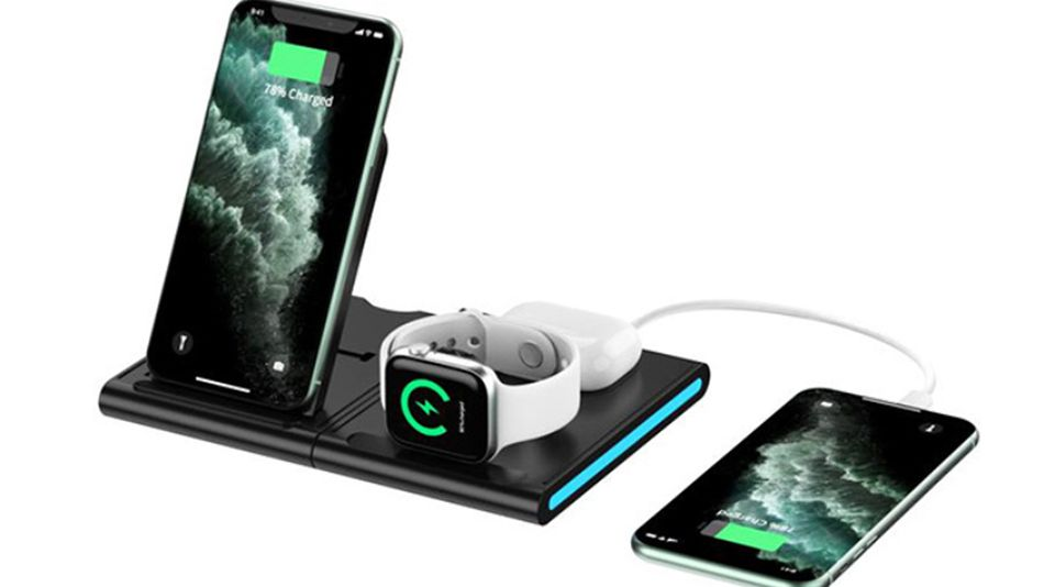 Save over 50% on this magnetic 4-in-1 wireless charging station