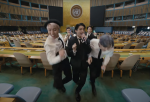 Watch BTS dance down the aisles of the U.N. General Assembly Hall